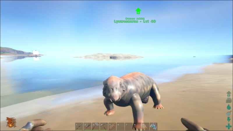 Ark Survival Evolved Lystrosaurus リストロサウルス 経験値