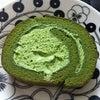 セブンイレブンの宇治抹茶ロールケーキの画像