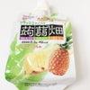 夏においしい!大粒アロエin クラッシュタイプの蒟蒻畑 パイナップル味の画像