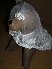 犬服ウェディングドレス1