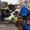 ▼唸声英国映像/スコットランドの遊園地でジェットコースター落下事故、11名負傷の画像