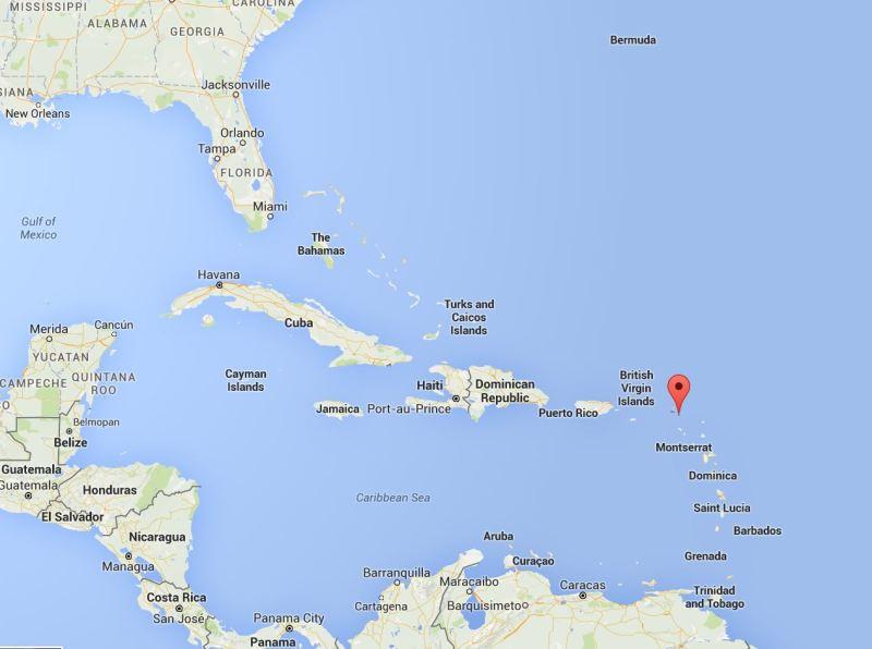 セレブリティに人気の島、セント...