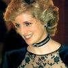 【英国王室】ダイアナ妃 紺のレースドレス お茶目の画像