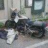 アパートに放置されたバイクを無料で処分してくれました。【東京都江戸川区】の画像