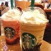 コーヒージェリー&クリーミーバニラフラペチーノでスタバデート♡の画像