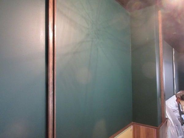 店舗内装塗装 ベンジャミンムーアの塗装