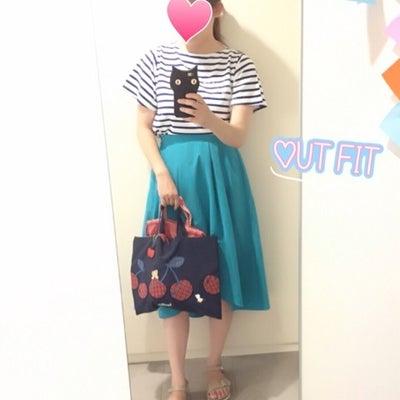 昨日のコーディネート♡ファミリアレッスンバッグの記事に添付されている画像