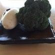 ブロッコリーの天ぷら…