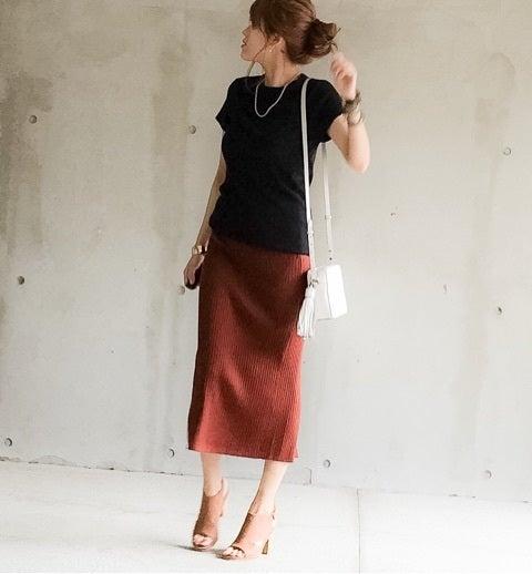 リブ スカート ユニクロ 大流行!プチプラのユニクロリブスカートの可愛すぎるコーデ術♡