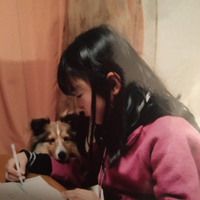 勉強中の知穂とパティ