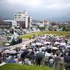 新潟で応援演説の画像