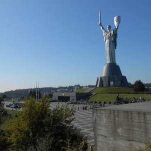 キエフの大祖国戦争博物館の画像