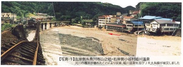 姫川氾濫 7.11水害 | tony のブロ...