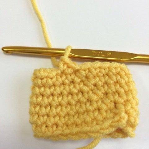 長編 み 立ち上がり