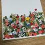 お花とネコいっぱい