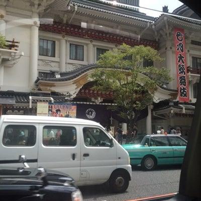 歌舞伎座への記事に添付されている画像