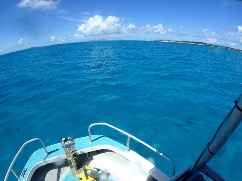 離島エリアでボート遠征