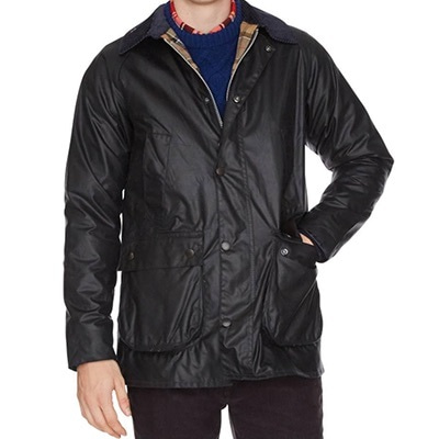 バブアー オイルドジャケットの着用イメージ