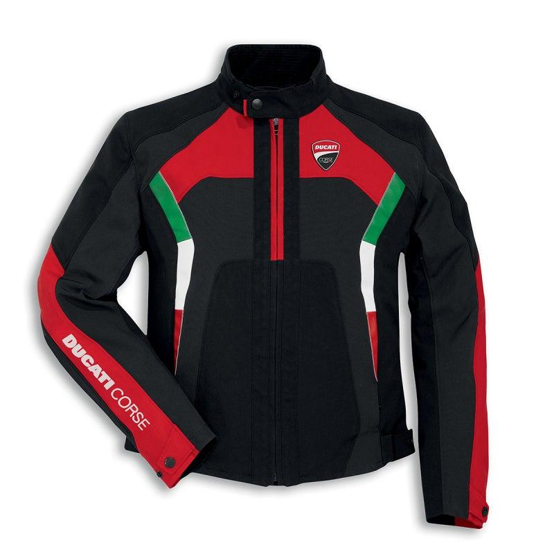 Ducati Historical Tex Textile Jacket Fabric Jacket Jacket Black New