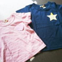 兄妹ペアTシャツ