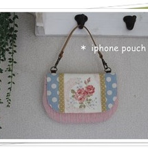 iphoneポーチ♪…