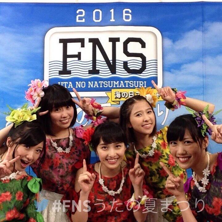 動画 FNSうたの夏まつり2016・も...
