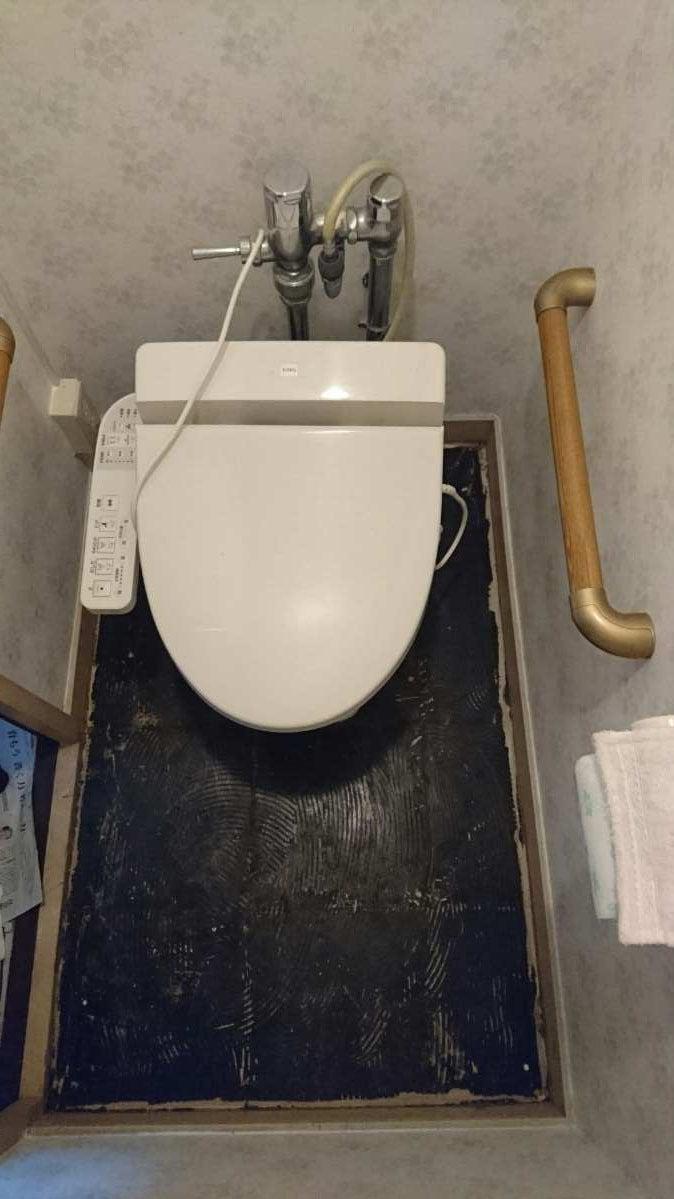 トイレ便器廻り