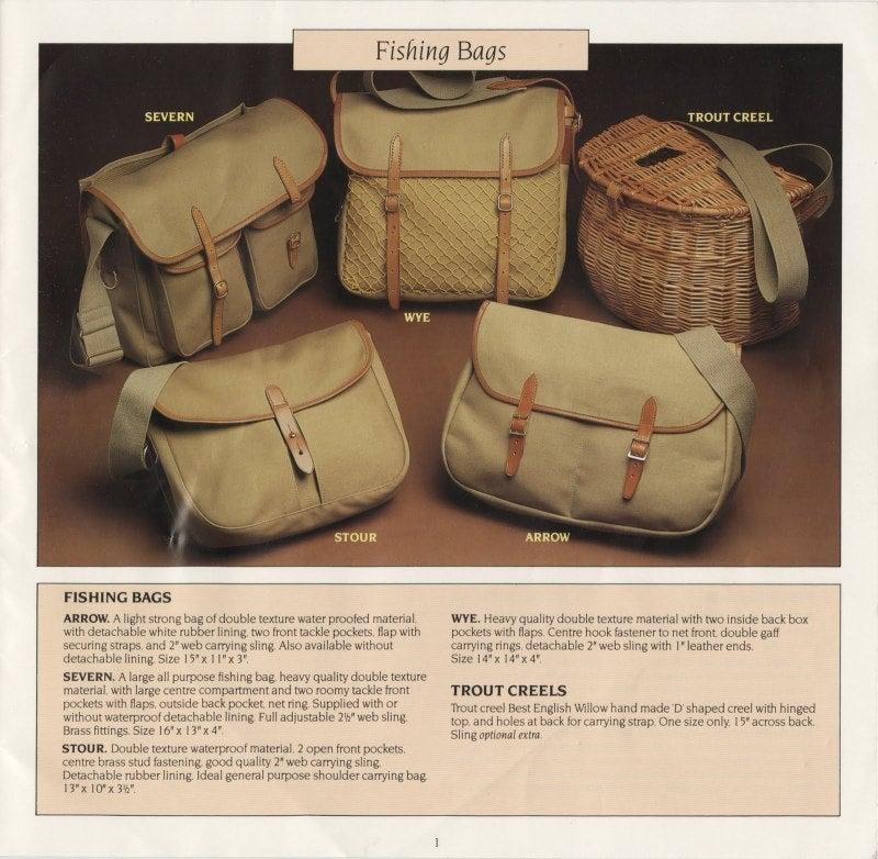 ブレディのフィッシングバッグ