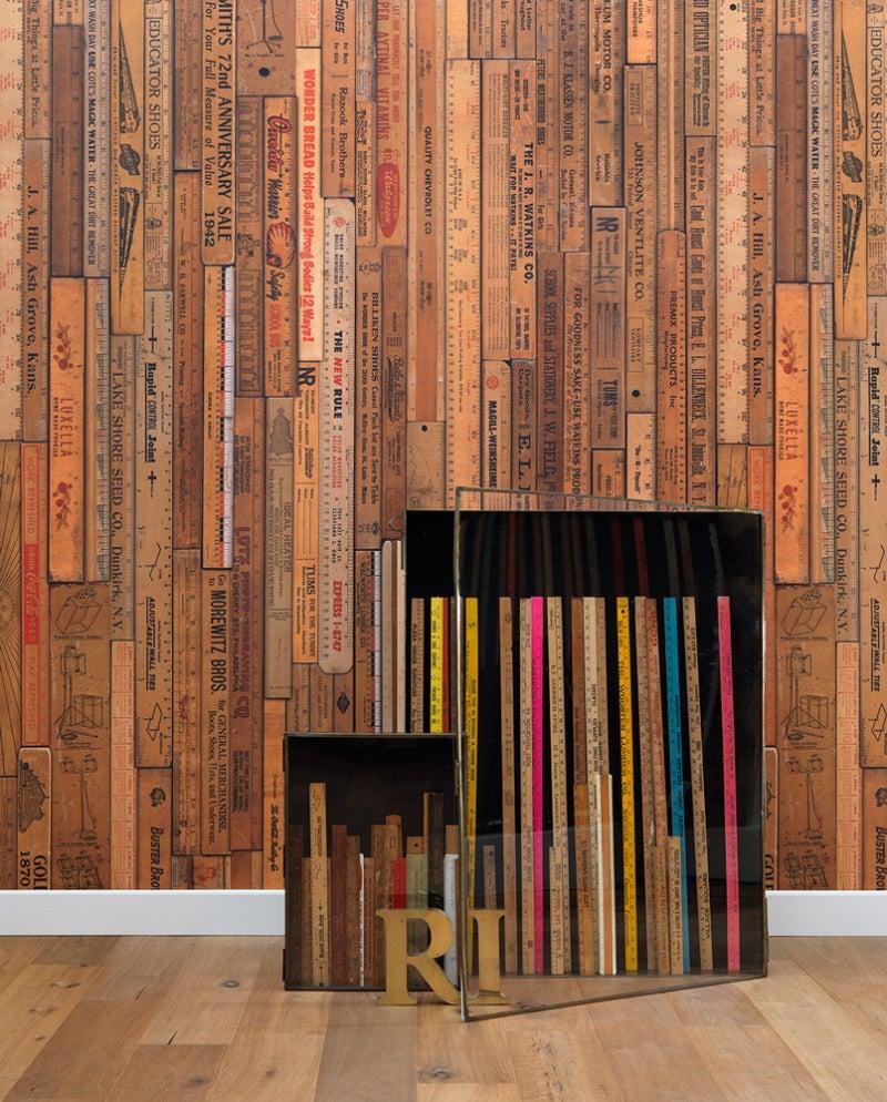 施工例 ブルックリンカフェ風 Wall Deco Store Walect 輸入壁紙専門店