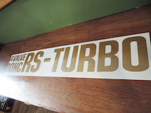 4VALVE DOHC RS-TURBOステッカー