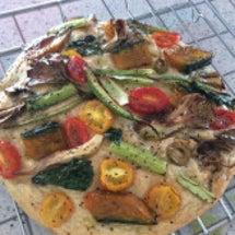 夏野菜のフォカッチャ…