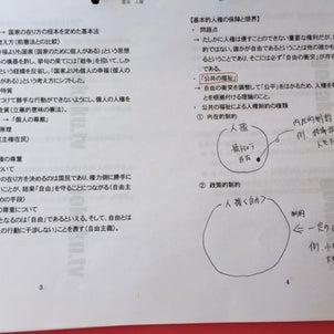 今年の行政書士試験の問題予想〈憲法編〉の画像