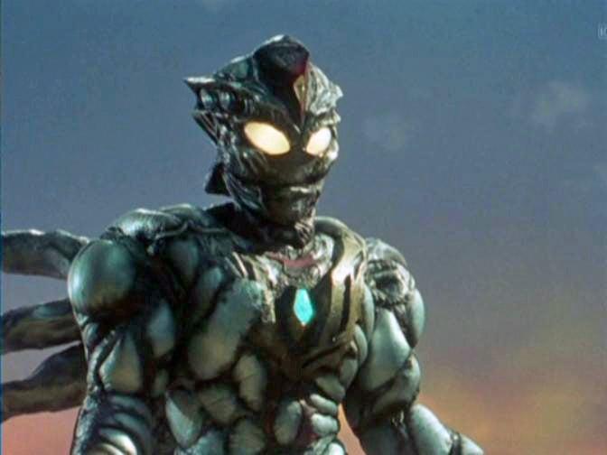 Ultraman dyna vs zelganoid