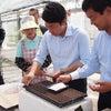 農業の視察で佐賀県を訪問の画像
