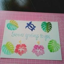 夏休み~。