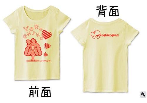 よろしこガール☆グッズTシャツ