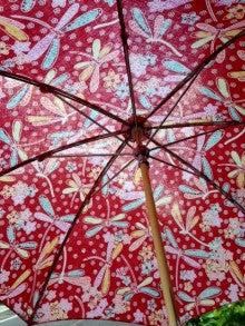 バティック製日傘