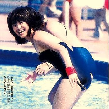 芸能人水泳大会アイドル画像