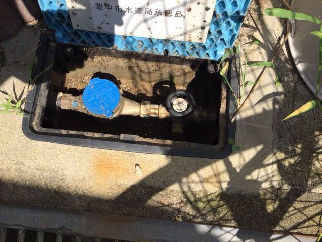 埋設給水管破損の漏水の復旧