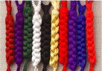 正絹製根付紐