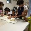 親子パン教室☆メロンパンとベリーヨーグルトブレッド☆の画像