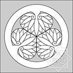 黄檗宗紋:三つ葵(徳川葵)