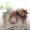 オーダーメイド☆お花飾りのシャビーな写真立て**の画像
