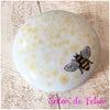 ビーズ盛りでハチさんの小物入れ♡の画像