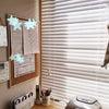 【キッチン窓にウッドブラインドを付けました】の画像