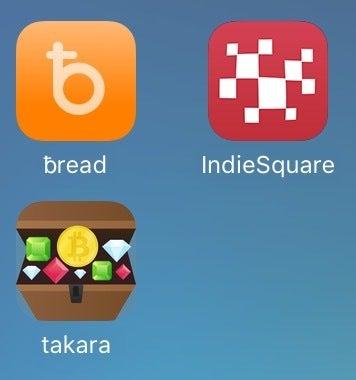App takara beadwallet IndieSqueare