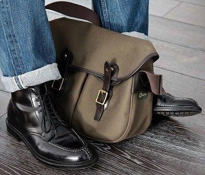 アリエルトラウトオリーブと革靴