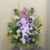 初盆のお供え花の画像