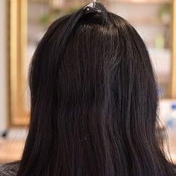 画像 黒髪のハリのある髪をACCとスピエラで柔らか矯正 の記事より 3つ目