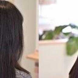 画像 黒髪のハリのある髪をACCとスピエラで柔らか矯正 の記事より 8つ目